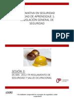 DS- 005 -2012 TR Reglamento de Seguridad y Salud en El Trabajo (1)