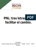 PNL Tres Letras Para Facilitar El Cambio