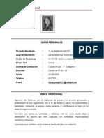 Luz Dary Mejia Sandoval (Hoja de Vida)