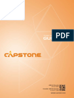 Capstone Team Member Guide 2018