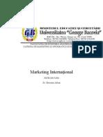 Marketing International 2008