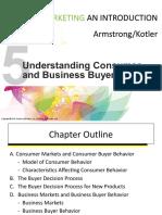 Chapter 5 - Understanding Consumer _ Business Buyer Behavior.pptx