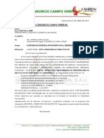 Informe Sobre Propuesta de Adicional y Deductivo Vinculante