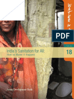 India's Sanitation for All-Discussion Paper Asian Development Bank 2009