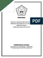 Proposal Pengadaan Dana Lab Tata Busana