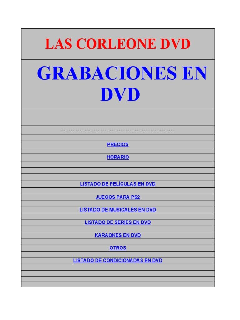Las Corleone Dvd Hotmail 20a1ff8de14dd