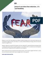 Exposición y flexibilidad psicológica