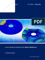 Learn Dynamic Analysis With Altair OptiStruct eBook