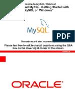 Mysql on Windows Gettingstarted Apac v3