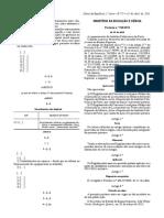 Portaria n.º 150-2013, De 15 de Abril - Regulamento Concurso Local Da ESMAE