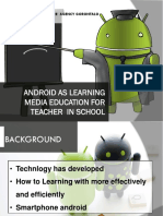 ANDROID AS LEARNING MEDIA EDUCATION  IN SCHOOL.pptx