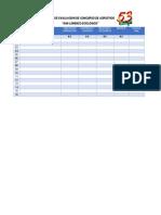 Ficha de Evaluacion de Concurso de Acrostico