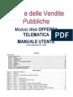 Manuale Utente Presentazione Offerta Telematica PVP 23112018