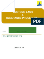 Warehousing Procedures
