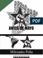 Antes de Mayo - Milciades Peña