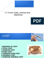 3.7 Firms' cost, revenue and objectives.ppt