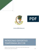 CBI Patrocinio Deportivo 2017 2018
