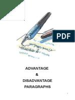 Advantage & Disadvantage Paragraphs (1)