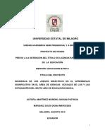 INCIDENCIA DE LOS JUEGOS DIDÁCTICOS EN EL APRENDIZAJE SIGNIFICATIVO EN EL ÁREA DE CIENCIAS SOCIALES DE LOS Y LAS ESTUDIANTES DEL SEXTO AÑO DE EDUCACIÓN BÁSICA.pdf