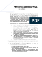 Procedimiento Licencia Maternidad - Paternidad 2019