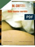 Coetzee.7cuentosmorales