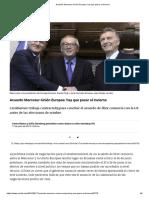 acuerdo del mercosur