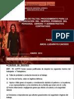 TALLER BENEFICIOS LEGALES OBREROS Y ADMINISTRATIVOS. 2014.ppt