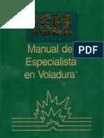 Manual de especialista en voladura