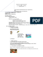 Lesson Plan in English IV-Demo(June 26,2019)
