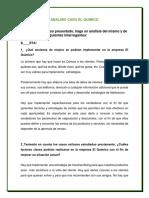 Analisis Caso El Quimico FINALIZADA