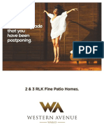 Western Avenue E and F Flipchart