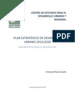 Plan Estratégico de Desarrollo Urbano