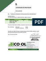 Cotizacion Aulas 36m2 Md San Felipe 25032019