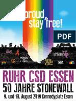 Programm RUHR.CSD 2019