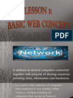 BASIC WEB CONCEPTS(ICT)