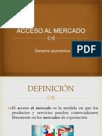 Acceso Al Mercado Exponer