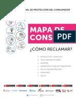 Mapa Consumo Español 2018