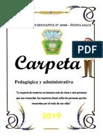 Carpeta Pedagocica - Nunya Jalca.