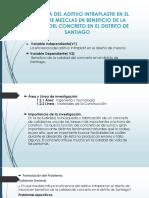 EFICIENCIA DEL ADITIVO INTRAPLAST® EN EL DISEÑO.pptx