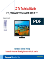 Panasonic 2012 Lcd-tv Et5 Dt50 Wt50 Series Technical Guide