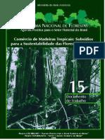 PNF -Comércio de Madeiras Tropicais Subsídios Para ...