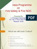 Fire Presentation Sachin 1
