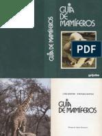 Manual Guia de Mamiferos