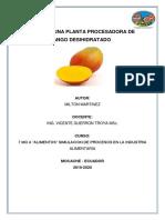 Milton Martinez- Diseño de Una Planta Procesadora de Mango Desihidratado