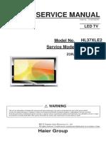Service Manual HL37XLE2