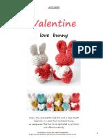 Anisbee - Valentine Love Bunny