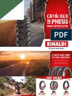 Catálogo de Pneus Para Motocicletas - Rinaldi