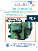 Marine Incinerator Saniterm Sh-20sr