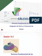 Teorema Fundamental de Las Integrales de Línea_Teorema de Green