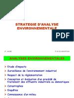 Stratégie d'Analyse Environnementale